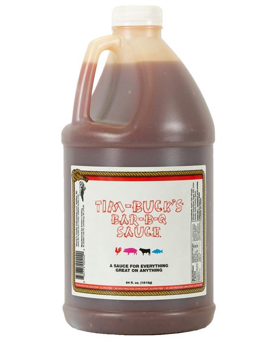 Tim-Buck's Bar-B-Q Sauce 1/2 Gallon