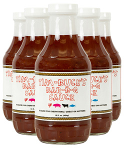 Tim-Buck's Barbecue Sauce (12 Pack)