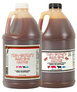Tim-Bucks Pick Two Barbecue Sauce (1/2 Gallon)