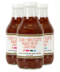 Tim-Buck's Barbecue Sauce (3 Pack)