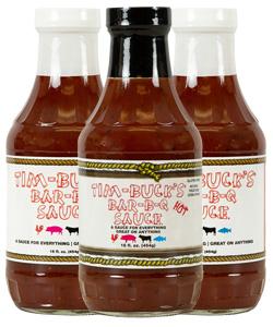Tim-Buck's Pick Three Barbecue Sauce (3 Pack)